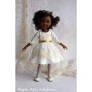 Tenue Cassandre pour Poupée Fashion Friends 36 Cm - Magda Dolls Creations