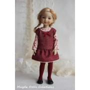 Tenue Madeline pour Poupée Fashion Friends 36 Cm - Magda Dolls Creations
