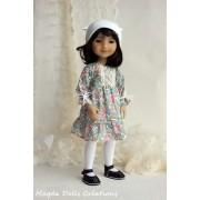 Tenue Uma pour Poupée Fashion Friends 36 Cm - Magda Dolls Creations