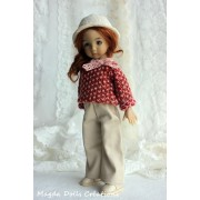 Ensemble April pour Poupée Little Darling - Magda Dolls Creations