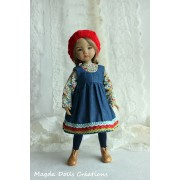 Ensemble Augustine pour Poupée Little Darling - Magda Dolls Creations