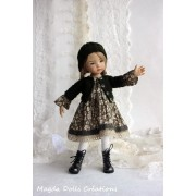 Ensemble Gaby pour Poupée Little Darling - Magda Dolls Creations