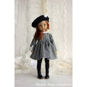 Ensemble Hermione pour Poupée Little Darling - Magda Dolls Creations