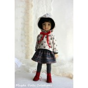 Ensemble Maxine pour Poupée Little Darling - Magda Dolls Creations