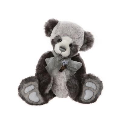 Panda Plumo Roger - Charlie Bears en Peluche