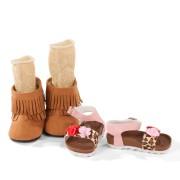 Set Bottes et Sandales Shoe Box pour poupée 46-50 cm - Götz