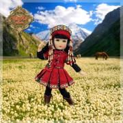 Poupée Xiang Xiang Four Kindergartner - Ruby Red