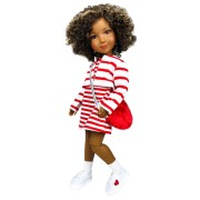 Vêtement Hearts and Stripes Forever Poupée Fashion Friends - Ruby Red