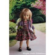 Tenue Alicja pour poupée Boneka - Magda Dolls Creations
