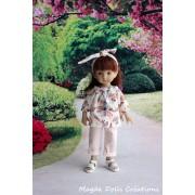 Tenue Honorata pour poupée Boneka - Magda Dolls Creations