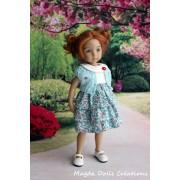 Ensemble Basia pour Poupée Little Darling - Magda Dolls Creations