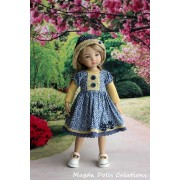 Ensemble Klara pour Poupée Little Darling - Magda Dolls Creations