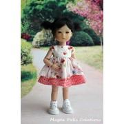 Tenue Kasia pour poupée Ten Ping - Magda Dolls Creations