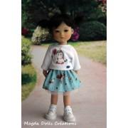 Tenue Kinga pour poupée Ten Ping - Magda Dolls Creations
