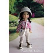 Tenue Maja pour poupée Ten Ping - Magda Dolls Creations