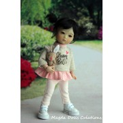 Tenue Ninka pour poupée Ten Ping - Magda Dolls Creations