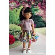 Tenue Aga pour poupée Siblies - Magda Dolls Creations