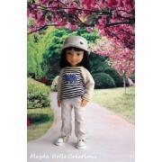 Tenue Piotr pour poupée Siblies - Magda Dolls Creations
