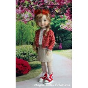 Tenue Zuzanna pour Poupée Fashion Friends 36 Cm - Magda Dolls Creations