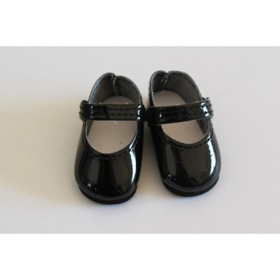 Chaussures Mary Jane vernies noires pour Amigas - Paola Reina