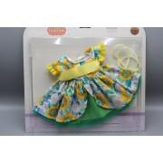 Vêtement Emily Robe fleurie pour poupée Soy Tu - Paola Reina