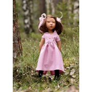 Poupée Alika 50 Cm - Children of the World 2021 - Zwergnase