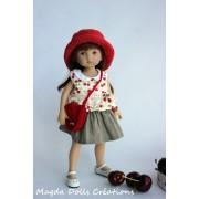 Tenue Erin pour poupée Boneka - Magda Dolls Creations