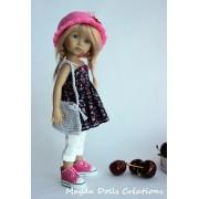 Tenue Hannah pour poupée Boneka - Magda Dolls Creations
