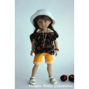 Tenue Julia pour poupée Boneka - Magda Dolls Creations