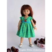 Tenue Lizzie pour poupée Boneka - Magda Dolls creations