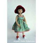 Ensemble Jodie pour Poupée Little Darling - Magda Dolls Creations