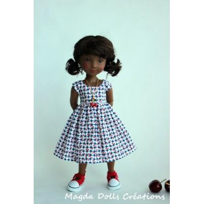 Tenue Camilla pour poupée Siblies - Magda Dolls Creations