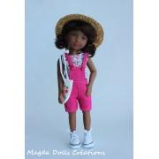 Tenue Hope pour poupée Siblies - Magda Dolls Creations