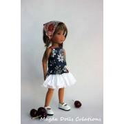 Tenue Joyce pour poupée Siblies - Magda Dolls Creations