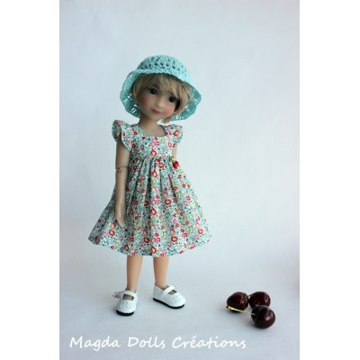Tenue Maureen pour poupée Siblies - Magda Dolls Creations