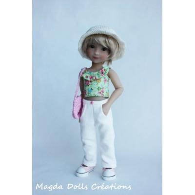 Tenue Zoey pour poupée Siblies - Magda Dolls Creations