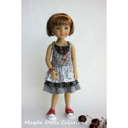 Tenue Fiona pour Poupée Fashion Friends 36 Cm - Magda Dolls Creations