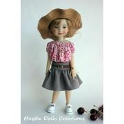 Tenue Suzie pour Poupée Fashion Friends 36 Cm - Magda Dolls Creations