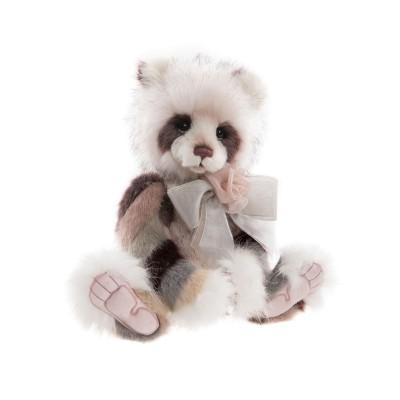 Panda Plumo Elaine - Charlie Bears en Peluche