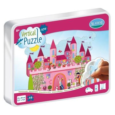 Vertical Puzzle Château 48 Pièces