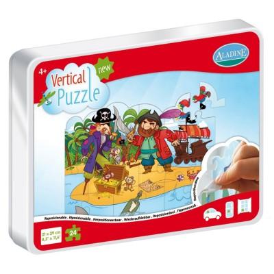 Vertical Puzzle Pirate 48 Pièces