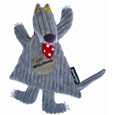 Doudou Le Loup Big Bos - Baby DEGLINGOS
