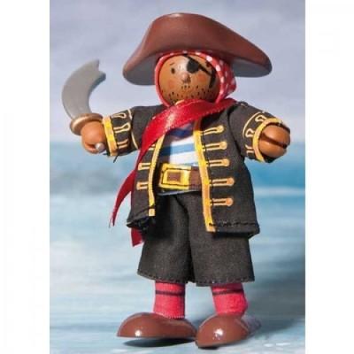 Le Pirate Raphael en bois