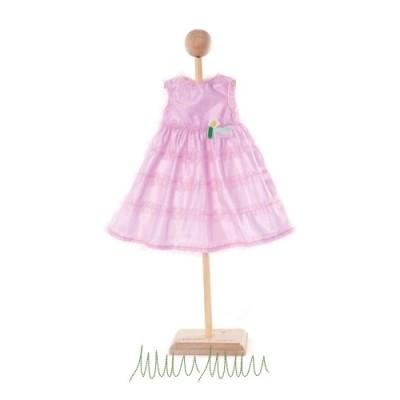 Vêtement Rose Poupée Petite Fleur