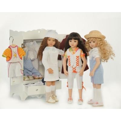 Garde-Robe pour vêtements poupées