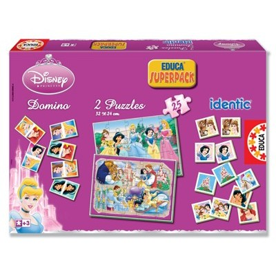 Superpack 4 en 1 - Disney Princesses