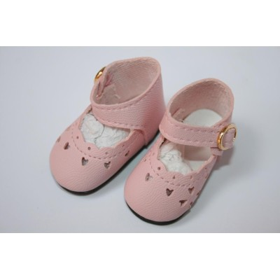 Chaussures rose clair pour Little Darling