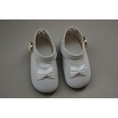 Chaussures Mary Jane Blanches pour Little Darling