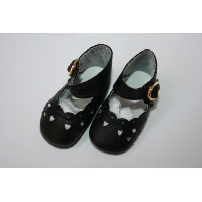 Chaussures noires clair pour Little Darling