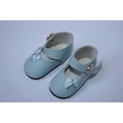 Chaussures bleu ciel pour Little Darling